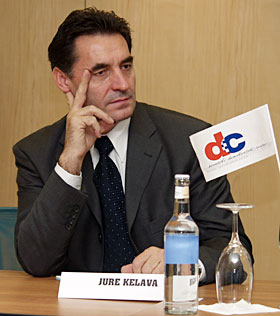 Jure Kelava (DC) - organizator tribine.