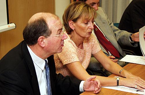 Dr. Mate Granić i Hloverka Novak-Srzić.