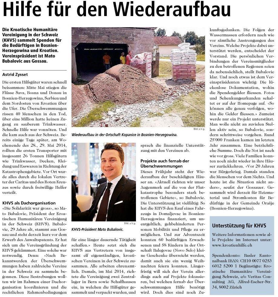 HHUS St.Galler Nachrichten