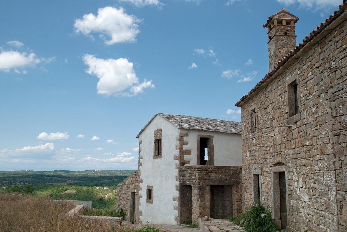 """Velebno """"selo"""" Ivana Jakovčića, istarskog feudalca Franje Tahija."""