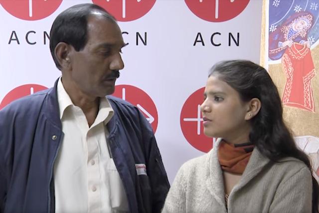 Ashiq Masih i kći Eisham
