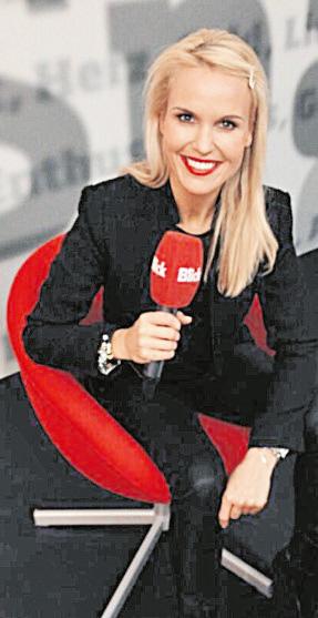 Tamara Sedmak, voditeljica, model, Baden, Švicarska