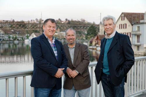 Branimir Petranović, Franko Cetinich i Dr. Ivica Tomić, Schaffhausen.