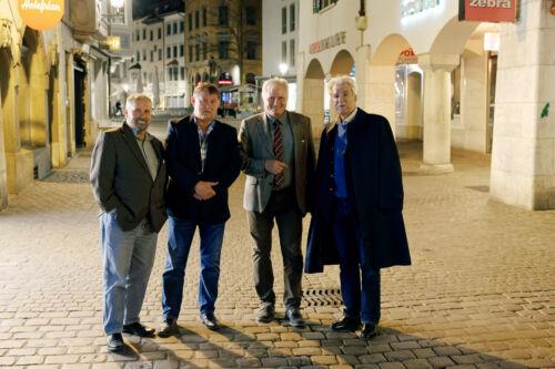 Franko Cetinich, Branimir Petranović, Tomislav Babić, Dr. Ivica Tomić, Schaffhausen.