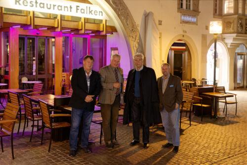 Branimir Petranović, Tomislav Babić, Dr. Ivica Tomić i Franko Cetinich , Falken Schaffhausen.