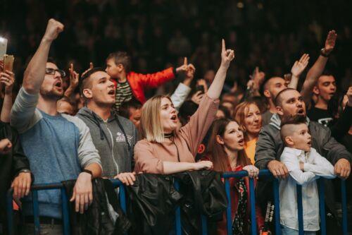 atmosfera na koncertima